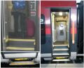 [Vienna]The retractable low-level step on this Railjet train helps when carrying luggage but is no use for wheelchair users. It's a dreadful omission given that Railjet offer a fantastic on-board experience way beyond anything currently operating in Britain