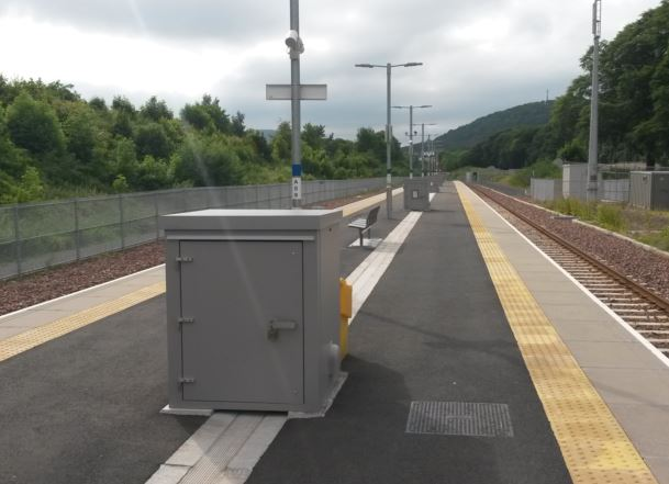 [Borders Railway]Campaigners who said the Borders Line was a magnet for tourists were listened to and two long platforms at Tweedbank station were provided so that charter trains could terminate and wait there