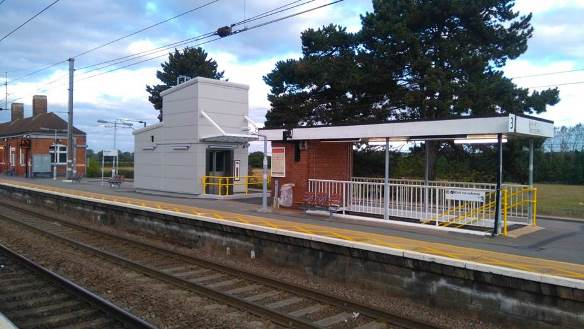 Lifts were opened in summer 2016 at Manningtree Station to give access to the island platform. Railfuture East Anglia gave this as an example of necessary improvements in its East Stations Award scheme